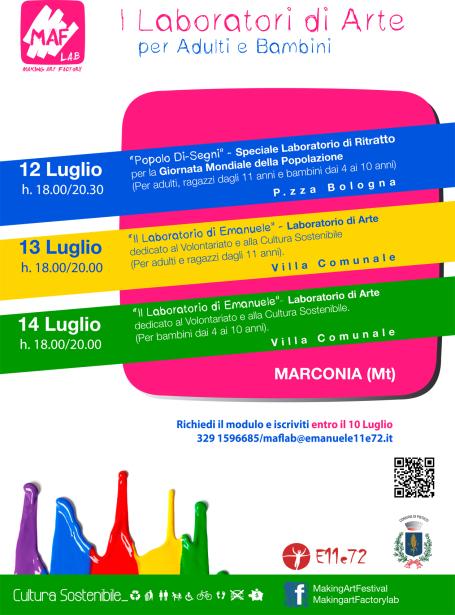 locandina maf lab summer
