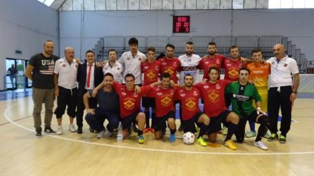 Bernalda Futsal-Guardia Perticara Formazione