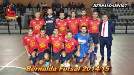 Formazione Bernalda Futsal in Coppa