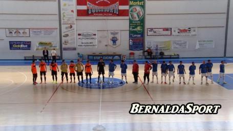 Bernalda Futsal Virtus Lauria Fischio d'inizio
