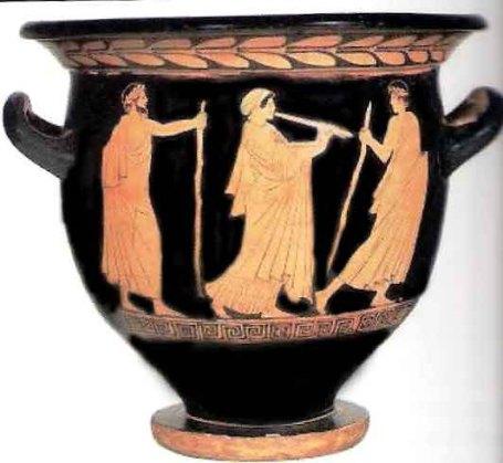 vaso del Pittore di Pisticci