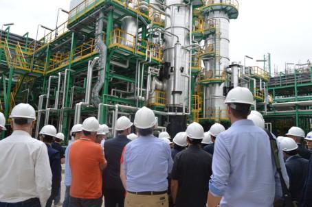 Visita Bioraffineria Matrica Porto Torres - Convegno IEA
