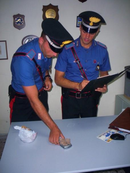 Carabinieri Pisticci droga