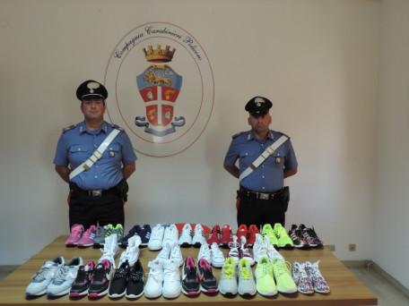 carabinieri scarpe