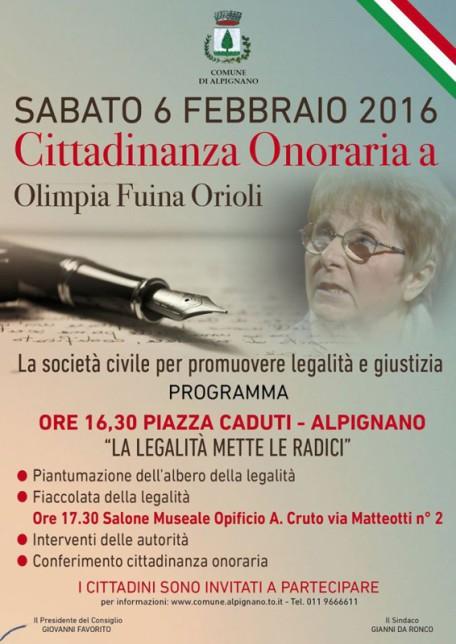 Olimpia Fuina Orioli Cittadina Onoraria di Alpignano (TO).docx