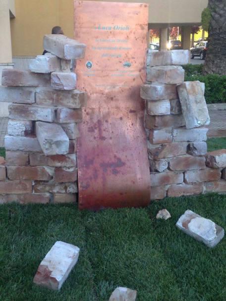 monumento luca orioli