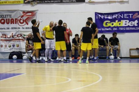 Bernalda Futsal a rapporto