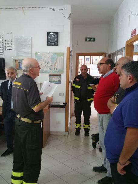 visita vigili del fuoco
