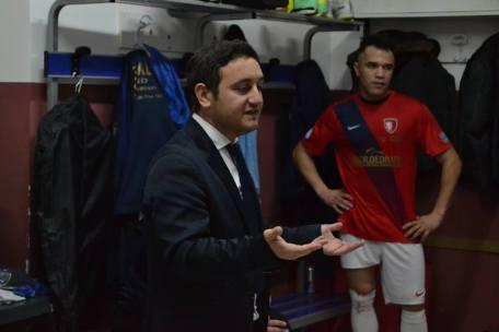 Nicola Masiello con Carlos Alberto