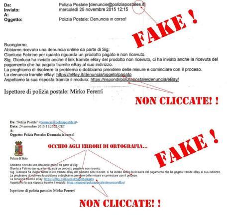 false mail