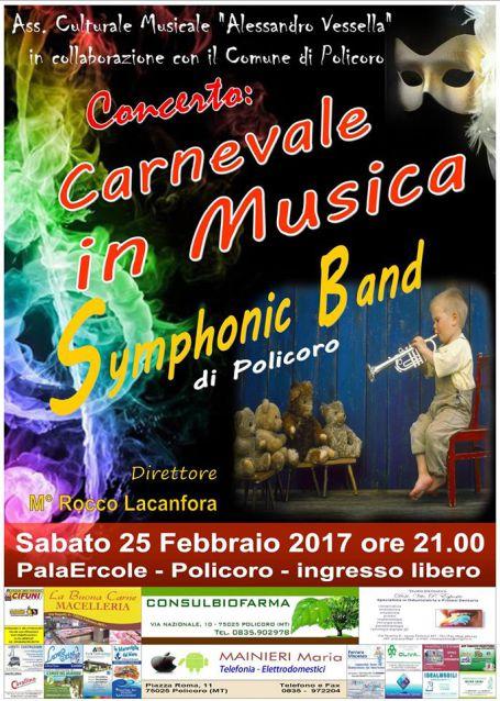 concerto 25 febbraio