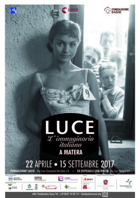 Locandina LUCE immaginario italiano a Matera