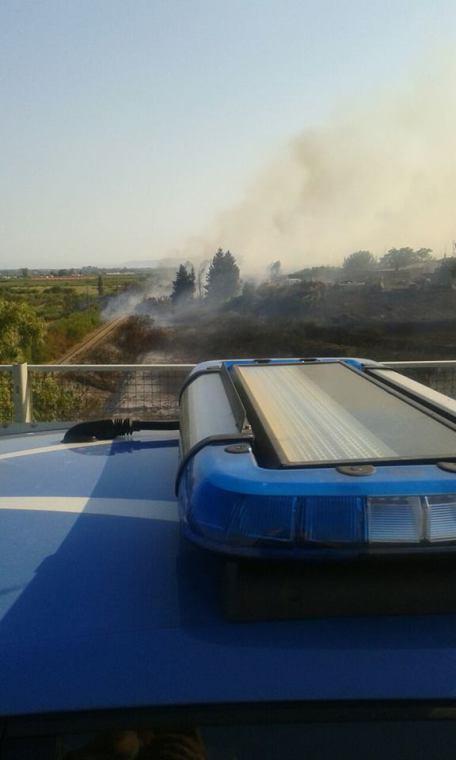 fiamme polizia