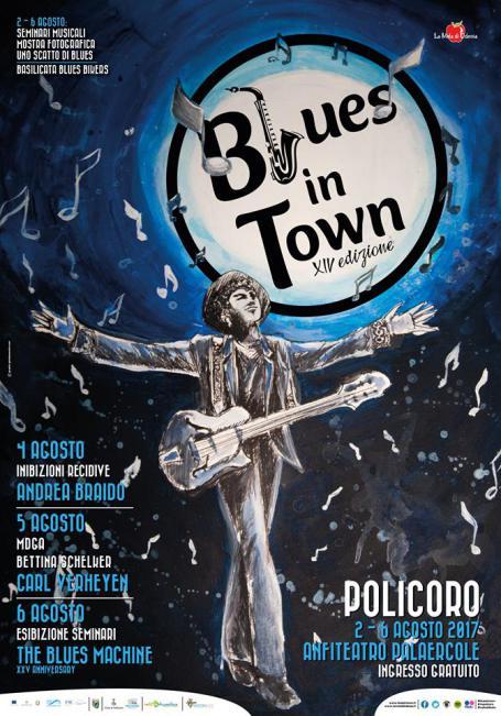 Locandina Blues in Town 2017