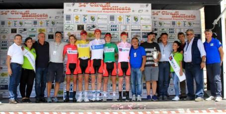 Giro di Basilicata 10092017 Sasso di Castalda-Viggianello le maglie finali
