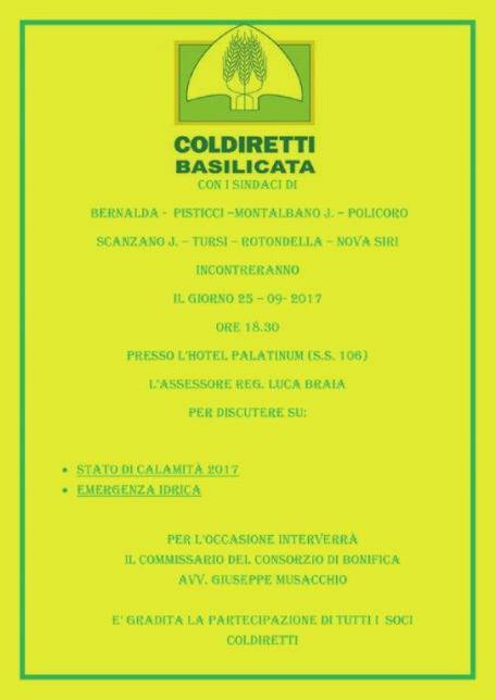 inconto Coldiretti