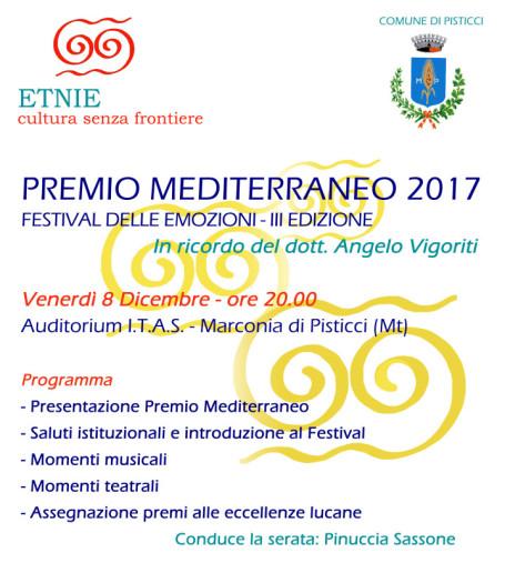Locandina -Premio Mediterraneo
