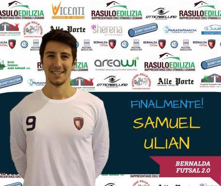 Tesseramento Samuel Ulian