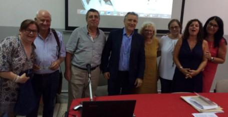 team Erasmusplus con il  d.  s.  Angelo  Castronuovo