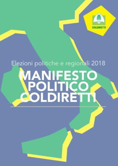 MANIFESTO POLITICO COLDIRETTI