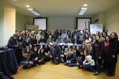 foto di gruppo volontari pro loco servizio civile unpli