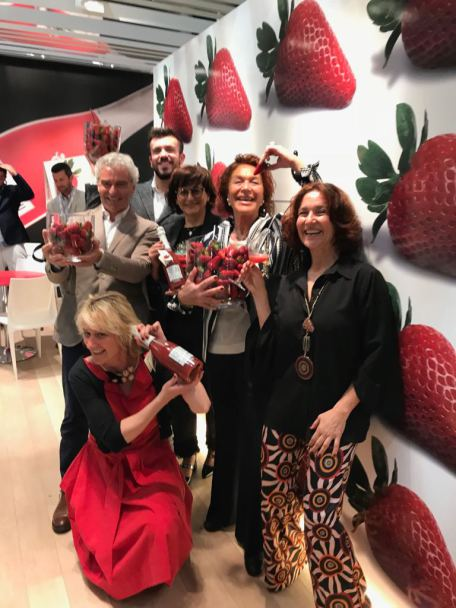 carmela suriano e la famiglia canella Vinitaly 18
