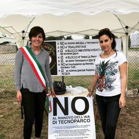 Sindaco di Pisticci con la deputata Mirella Liuzzi