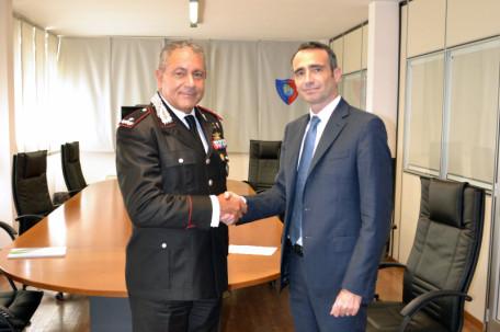 Gen.B._Sergio_Pascali_Comandante CC Tutela Ambientale e Ing._Luca_Desiat...