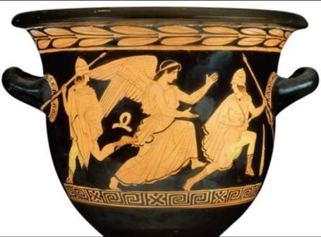Un vaso del Pittore di Pisticci
