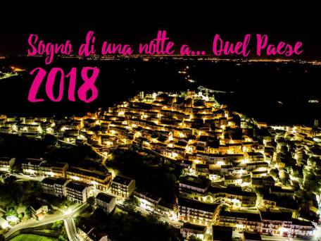 sogno paese 2018