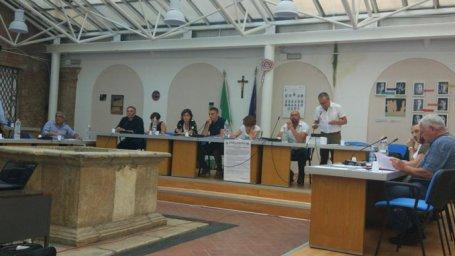 Foto di un Consiglio Comunale a Pisticci