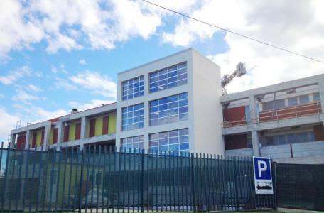 Struttura ospedale di Tinchi