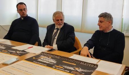 FAF2018 conferenza stampa da six don David Mannarella_ass Giampaolo D'Andrea_Gennaro Loperfido