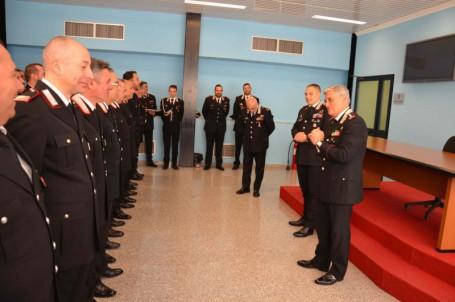 visita comandante carabinieri