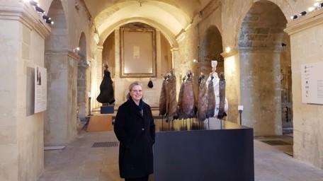 Louise Manzon e mostra Aiòn nei Sassi a San Pietro Barisano