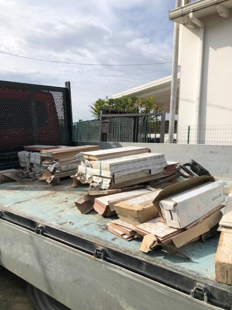 materiale edile rubato