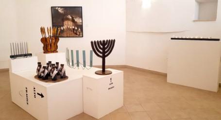 Lumi di Chanukkah allestimento Fondazione Sassi 1