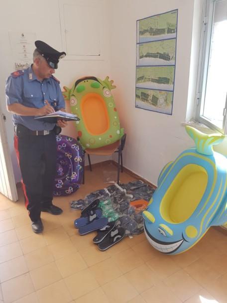 Stazione di Metaponto sequestro materiale in assenza autorizzzazioni del...