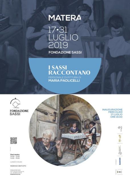 Fondazione Sassi - locandina mostra I Sassi raccontano