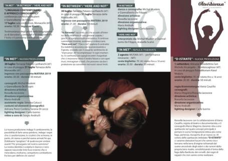 brochure- Asd Oltredanza - Metamorfosi del sé 1