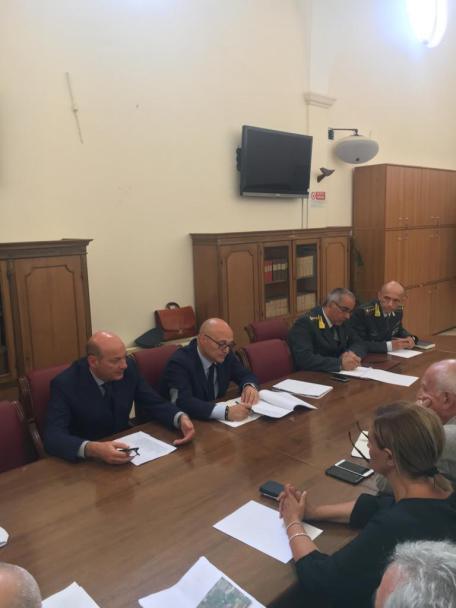 comitato opordine sicurezza prefettura matera