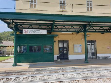 ferrovia stazione ferrandina