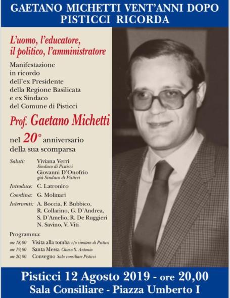 Manifesto convegno su Michetti