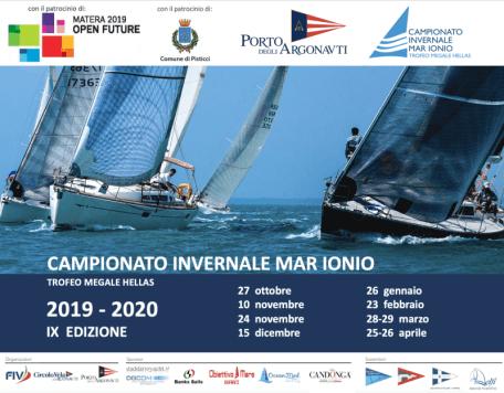 Locandina Campionato Invernale Mar Ionio