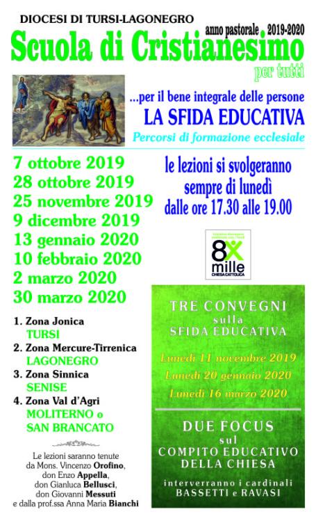 Scuola di Cristianesimo 2019-2020