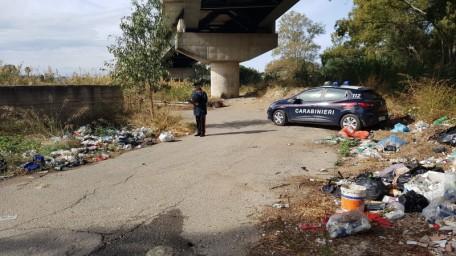 carabinieri discarica