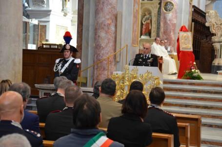 virgo fidelis messa carabinieri