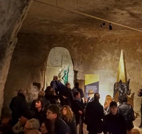 visitatori mostra Dalì_La persistenza degli Opposti_Matera