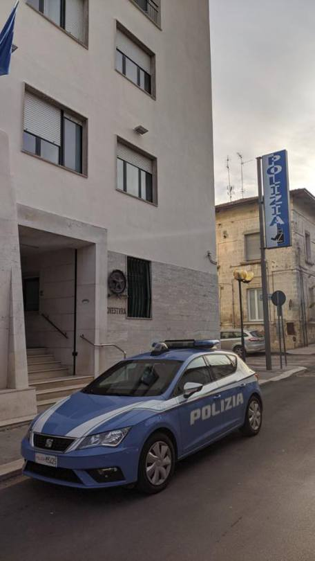 Polizia questura Matera
