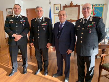 Carabinieri Comandante Tomasone